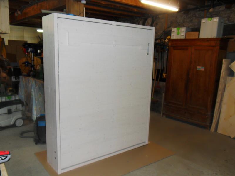 Lit escamotable en double couchage vercors literie for Fabriquer un lit escamotable