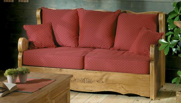 canape alaska fixe 2 pl authentissima. Black Bedroom Furniture Sets. Home Design Ideas