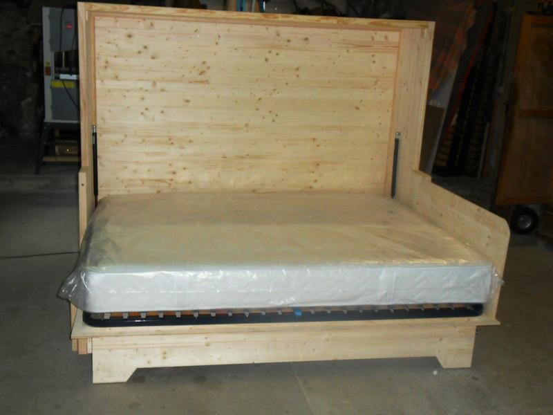 lit relevable avec banquette escamotable vercors literie. Black Bedroom Furniture Sets. Home Design Ideas
